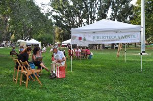 LIVING LIBRARY AT MOLISE CALVAIRATE<br>